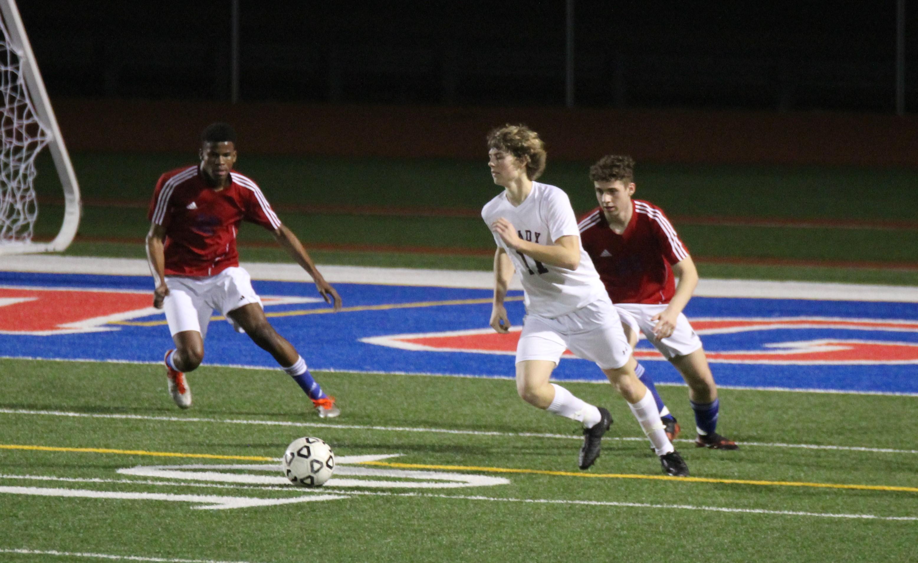 Boys Junior Varsity Soccer Beats Heritage 2 – 0