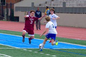 Boys JV Soccer v AIS