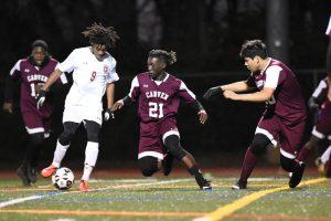 Grady Varsity Boys Soccer vs. Carver 3/5