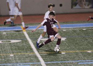 grady boys jv soccer v paideia