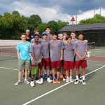 Boys varsity tennis,  Final Four bound!
