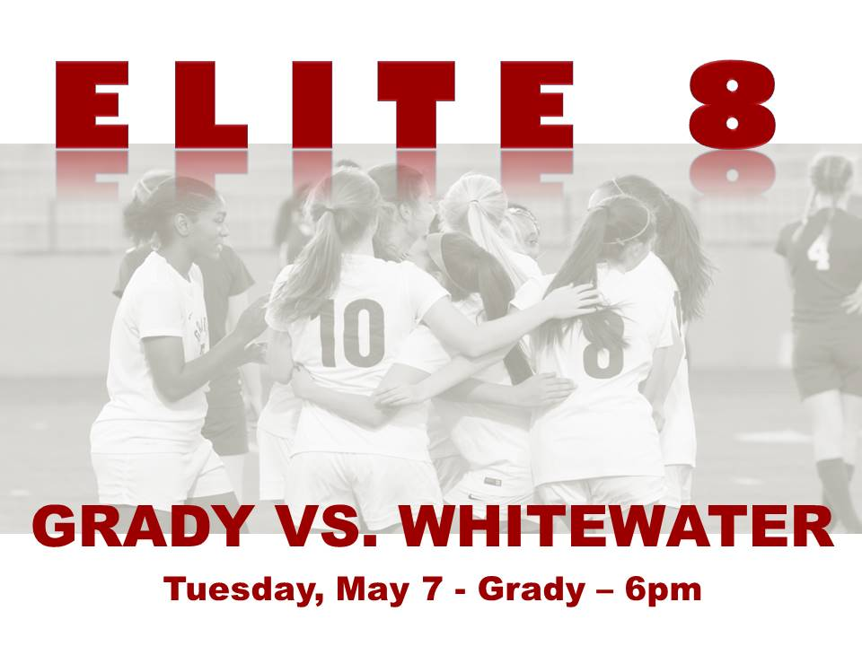 Lady Knights Soccer Elite 8 Game on May 7