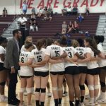 Knights Take Down Pythons in Two Sets