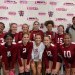 Volleyball Finishes 3rd at Pinkout Tournament