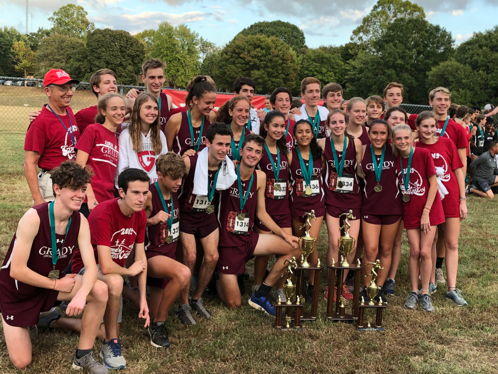 Cross Country Sweeps APS Championships