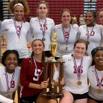 Volleyball Season Ends in First Round of State Tournament