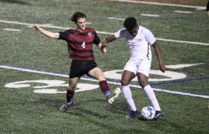 boys varsity soccer v woodward