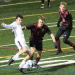 Boys Varsity Soccer ties Pope 2 – 2