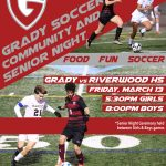 Grady Community and Senior Night
