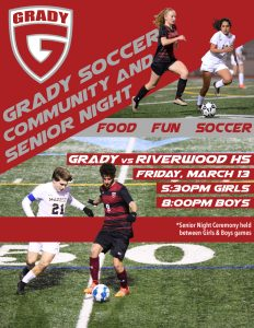 Grady Community and Senior Night