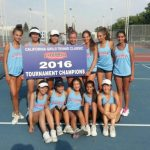 Girls Tennis wins California Classic!