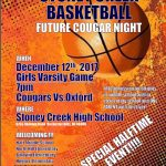 GIRLS BASKETBALL MIDDLE SCHOOL NIGHT