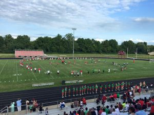 Red & Green Game – Football