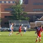Anderson High School Boys Junior Varsity Soccer beat Muncie Burris 2-1