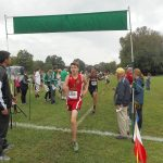 Anderson High School Boys Varsity Cross Country finishes 9th place