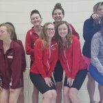 Tribe Girls 3rd at NCC Swim