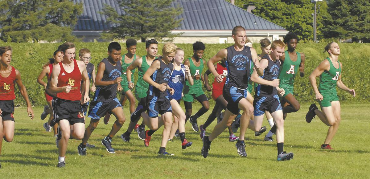 Tribe Boys win City Cross Country Meet