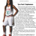 Tyra Ford featured in Herald-Bulletin preview