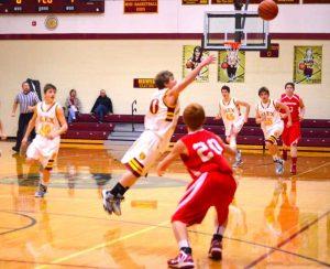 Freshman Boys defeat Frankton 38-30