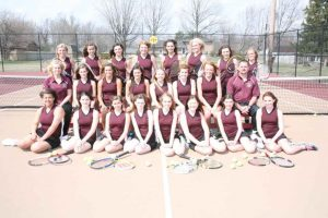 2013 Lady Tiger Tennis