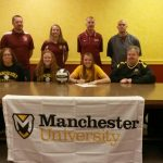 Oliver Signs with Manchester University