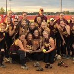 Softball Defeats Frankton 3-1 for Sectional Title