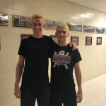 Hueston and Etherington Compete for State Doubles Title