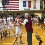 Avery Paddock Joins the 1000 Pt Club in WesDel Victory