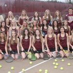 2019 Madison County Tennis Champs now add Central Indiana Conference Title
