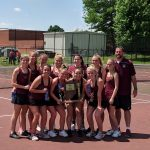Alexandria Lady Tiger Tennis gets Triple Crown in Sectional Title Win!