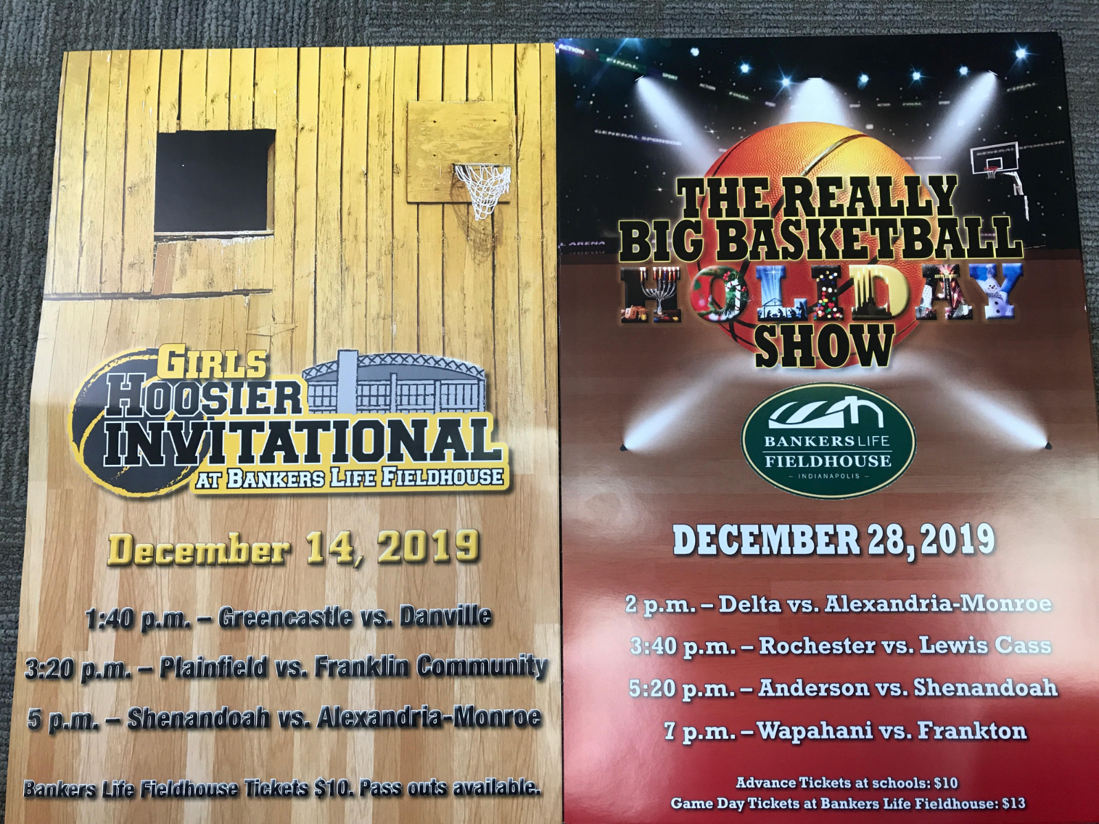 Tickets now on Sale For Bankers Life Games-Girls and Boys