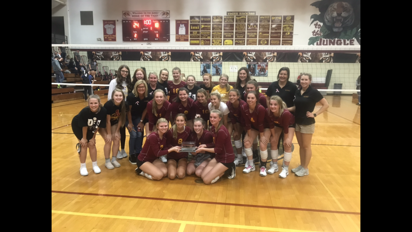 2020 CIC Volleyball Champions!!!