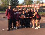 Tiger Tennis capture 3-2 win over Eagles