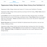 Boys Varsity Baseball beats Fairfield 5 – 2