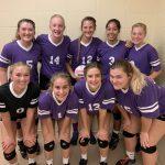 Varsity & JV Volleyball Sweep Marion