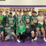 Varsity Wrestling wins Guerin Catholic Invite! Montelongo, McBrier, and Slusher go unbeaten!