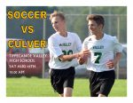 Soccer Scrimmage Information Saturday, Aug 15