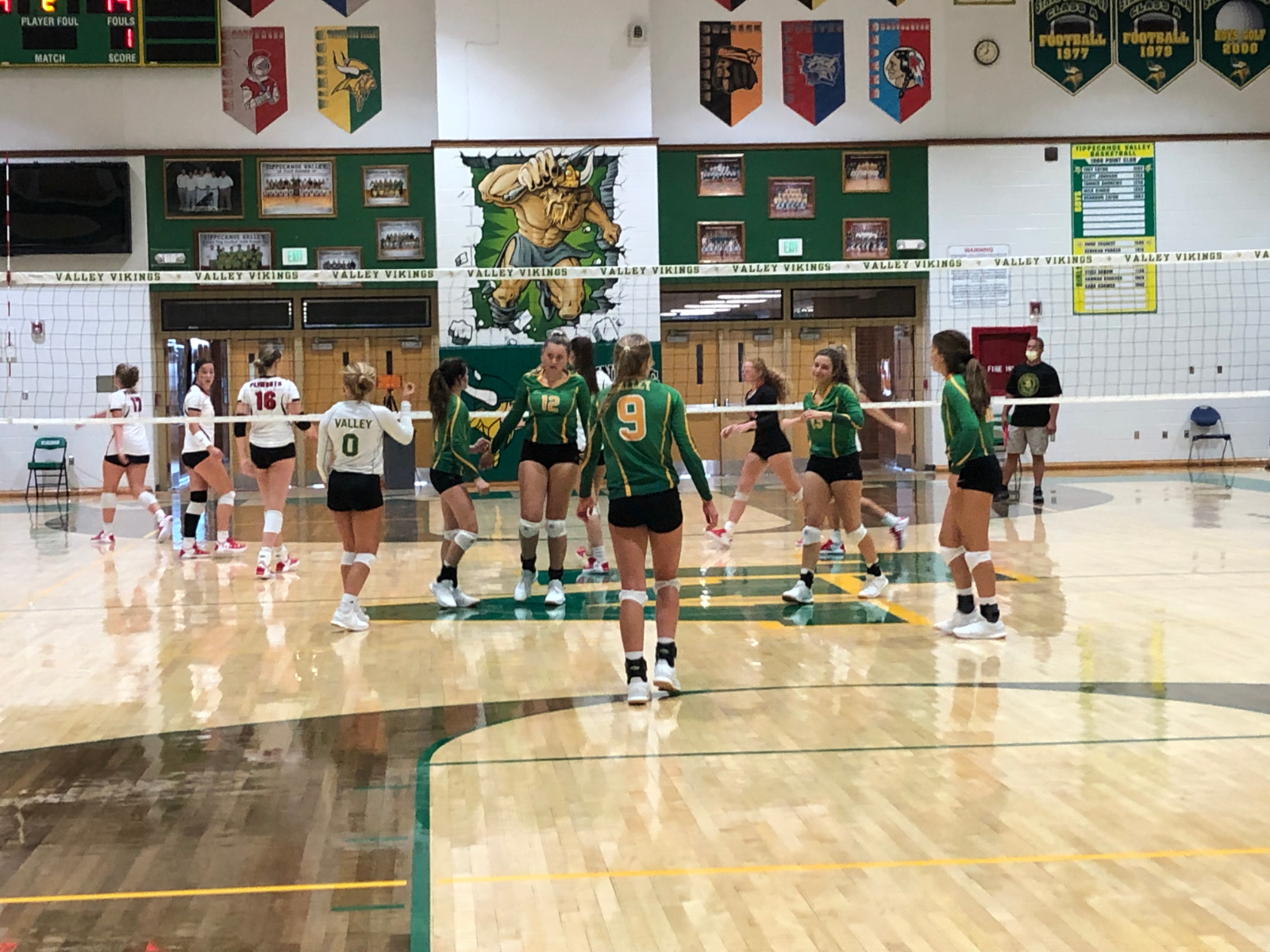 PHOTOS: Volleyball vs Plymouth 8/19/2020