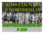 CROSS COUNTRY TODAY @ NORTHFIELD INVITE