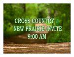TODAY: Cross Country @ New Prairie Invite