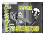 TONIGHT: Volleyball @ Southwood
