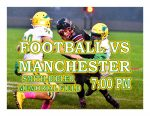 TONIGHT: Football vs Manchester