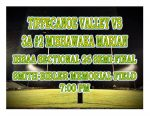 TONIGHT: Football vs 3A #2 Mishawaka Marian – IHSAA Sectional 26 Semi-Final