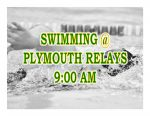 TODAY: Swimming @ Plymouth Relays + Livestream Link