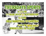TONIGHT: Freshman Boys Basketball, Girls Basketball and Wrestling in Action + Streaming Links