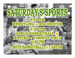 TODAY: Wrestling, Girls and Boys Basketball in Action + Streaming Links