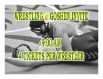 TODAY: Wrestling @ Goshen Invite + Streaming Link