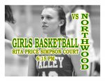 TONIGHT: Girls Basketball vs Northwood + Streaming Link