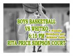 TONIGHT: Boys Basketball vs Whitko + Streaming Link – 4 Tickets per Athlete