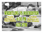 TONIGHT: Wrestling vs Rochester – Family Only
